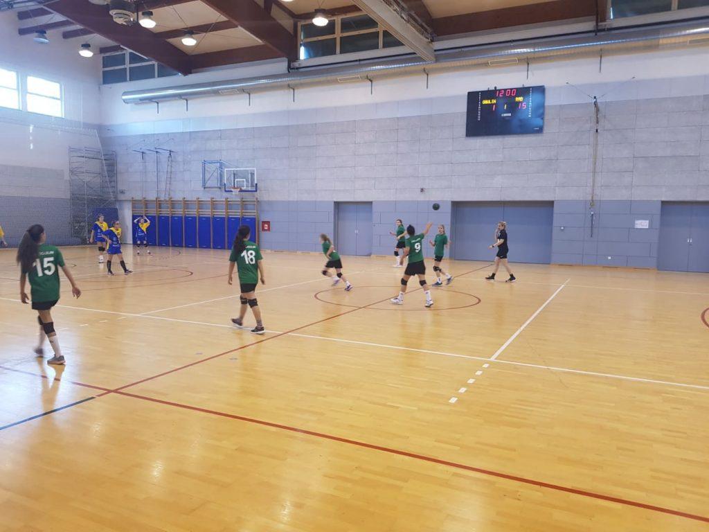 Ogulin.eu Djevojčice ŽRK OGULIN odigrale 6. kolo 1. HRDL zapad