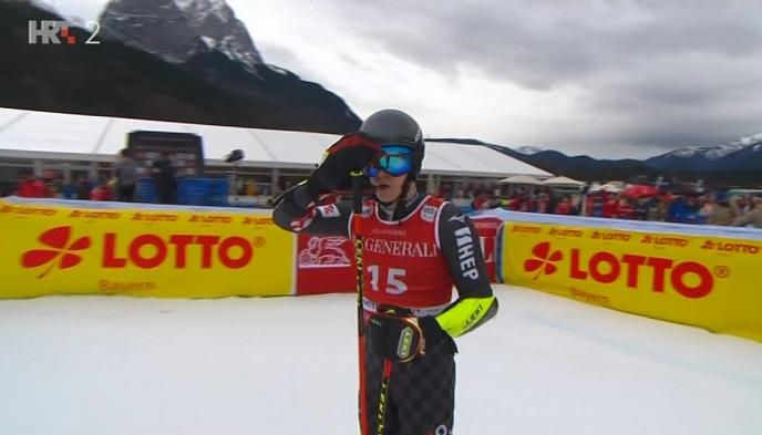 Ogulin.eu Filip Zubčić primio je medalju za ukupno treće mjesto u veleslalomu
