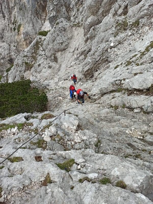 "Ogulin.eu [Foto] Ogulinci na Alpama – ""Feratom do vrha Prisojnik (2547m.n.v)"""
