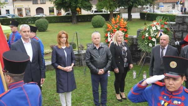 Ogulin.eu Središnje obilježavanje 25. obljetnice VRO Oluja za područje Karlovačke županije održano je u Slunju