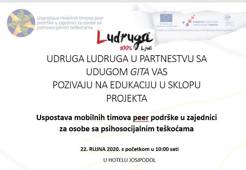 Ogulin.eu Udruga Ludruga organizira radionicu za korisnike grupe podrske u zajednici za osobe sa psihosocijalnim teškoćama