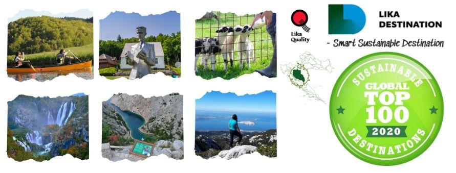 Ogulin.eu Destinacija Lika uvrštena među TOP 100 svjetskih održivih zelenih destinacija